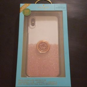 Kate Spade Ringstand & Hardshell Case iPhoneXS Max